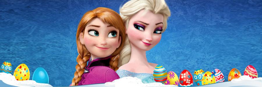 Anna & Elsa from Disney's Frozen